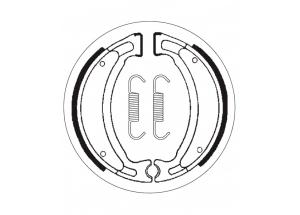 Mâchoires de frein 110 x 25 SBS 2028
