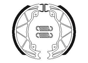 Machoires de frein Bendix BA205 Organique