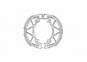 Mâchoires de Frein Ø140mm L 25mm