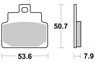 Plaquette de frein Kyoto Semi-Métal